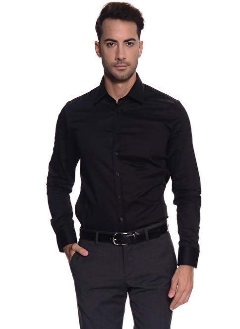 Fabrika Gömlek Siyah
